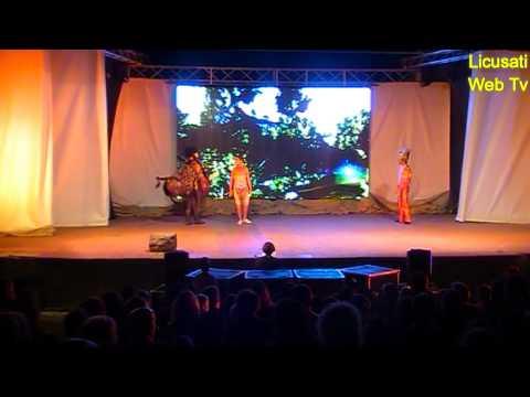 Musical '' IL RE LEONE '' Camerota 17 Agosto 2015