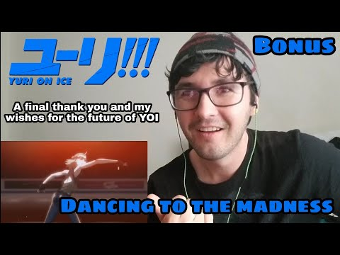 "Yuri on Ice ""Dancing to the madness"" reaction"