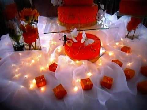 Franer bakes craft quince a os naranja youtube for Decoracion de pared para quinceanera