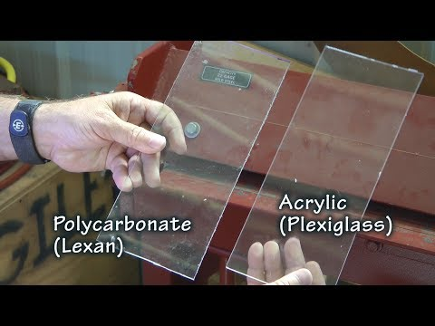 Choosing Lexan or Plexiglass for your Aircraft