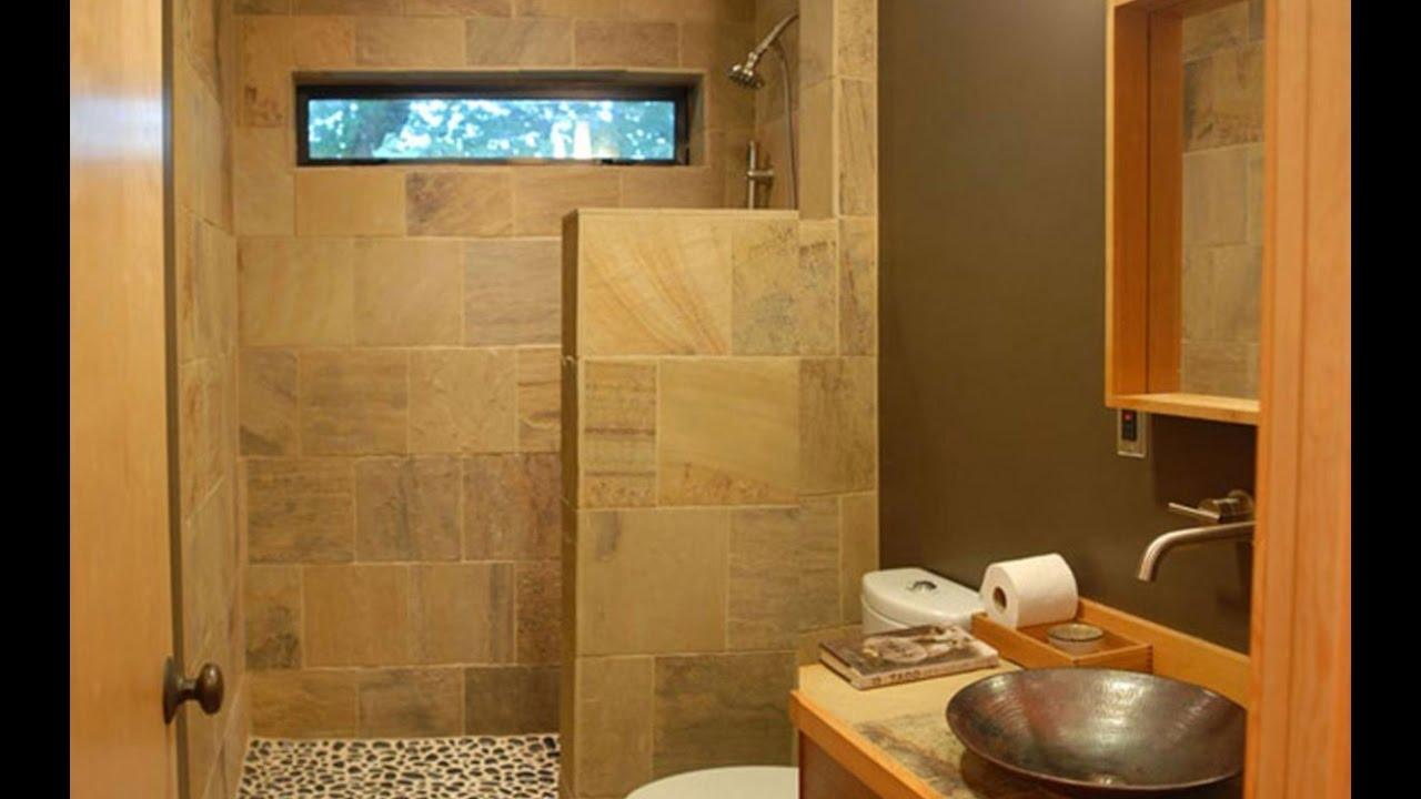 Small Bathroom Designs With Shower Only YouTube - Small bathroom layout with shower only