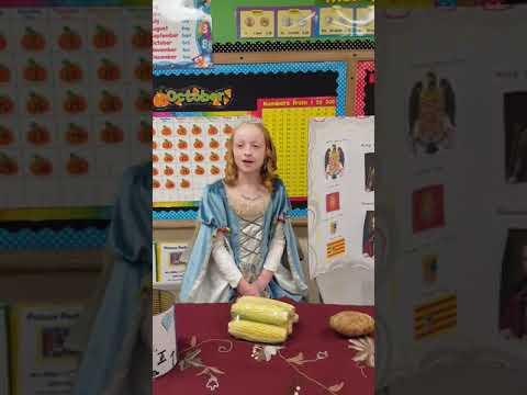 Queen Isabella of Castile 5th grade wax museum presentation