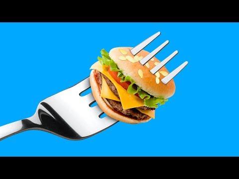 Огромная и миниатюрная еда – 6 идей