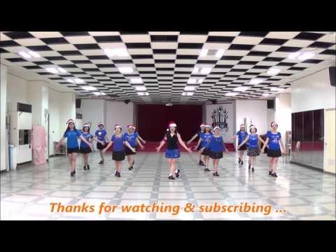 Mary's Boy Child (by Kenny Teh) - X'mas line dance (demo & walk through) = 瑪麗的男孩 - 聖誕排舞(含導跳)