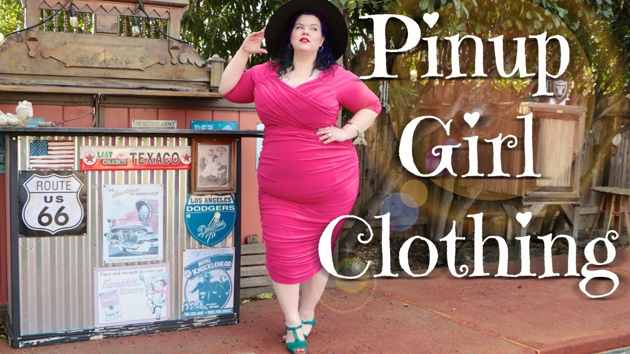 Plus Size Pinup | Pinup Girl Clothing Try On Haul & Lookbook