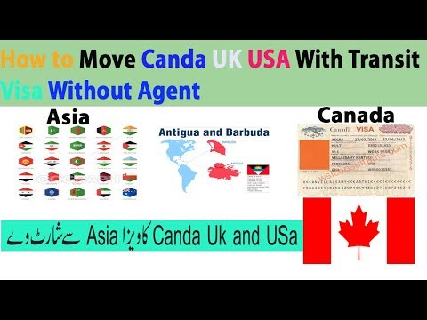 How To Move  From Asia TO Canada  Transit  Visa /2019/Visa Far
