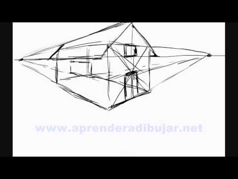 How to draw a house in perspective things to draw youtube