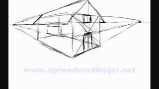 How To Draw A House In Perspective - Things To Draw