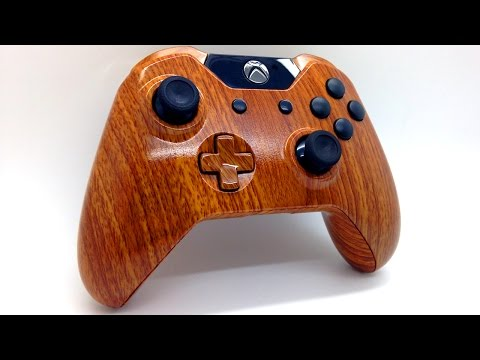 Wooden Themed Custom Painted Xbox One Controller - Acidic Gaming