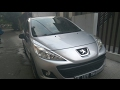 Peugeot 207 1.4 SX (2011) Start Up & In Depth Review Indonesia