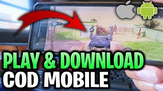 How to Get CoD Mobile Download 🔥 Call of Duty Mobile iOS/Android Gameplay