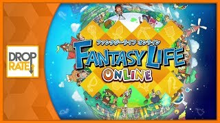 [ENG] First Look: 'Fantasy Life Online' ファンタジーライフ オンライン (iOS/Android)