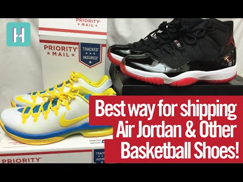 How to (Best / Cheapest way) Ship Air Jordan's + Other Basketball Shoes!  eBay Shipping
