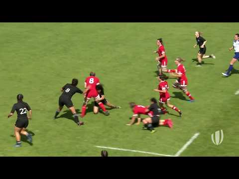 Canada score epic team try at Women's Rugby World Cup