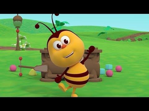 Трудолюбивая пчёлка  - детские песни  | Детское Королевство