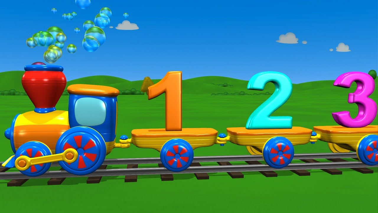 tutitu preschool the numbers train song youtube