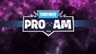 FORTNITE PRO AM TOURNAMENT! [E3] part 1