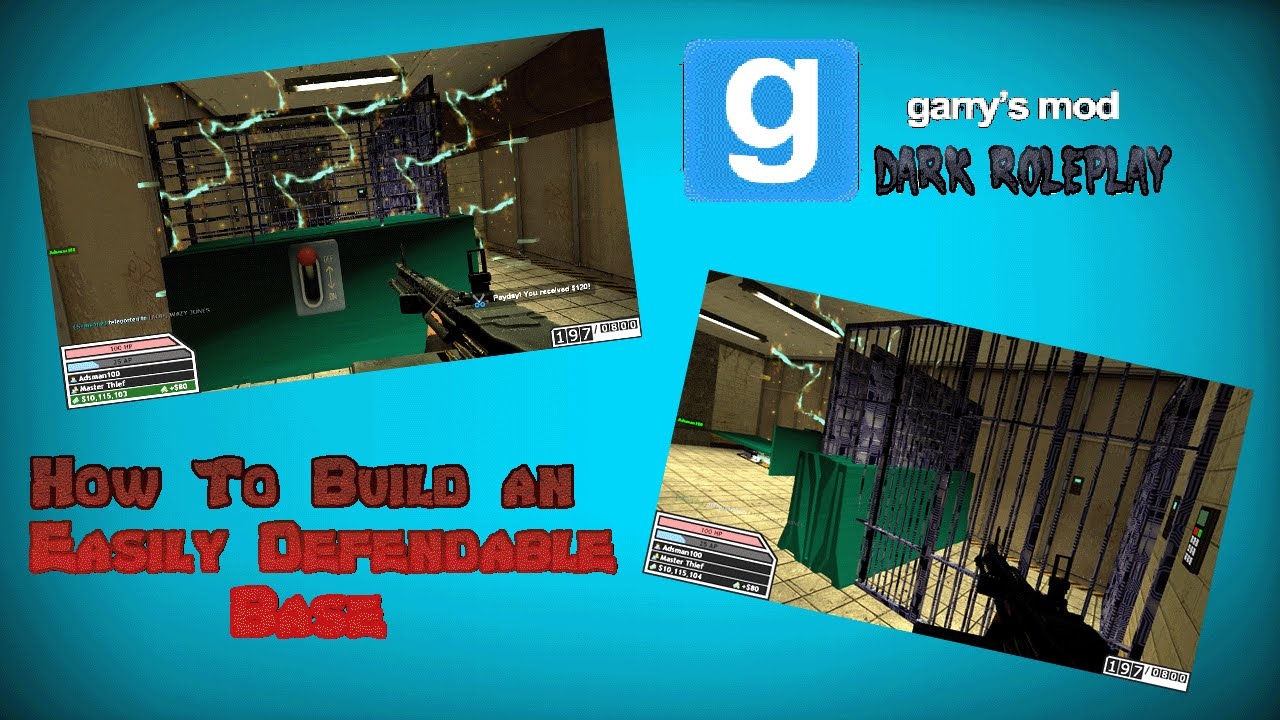 how to easily build in gmod