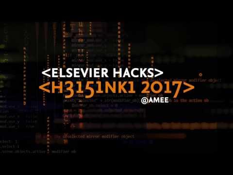 Elsevier Hacks 2017