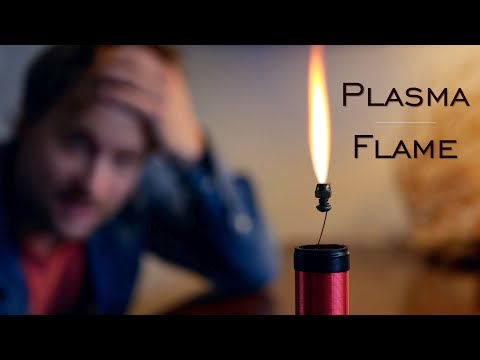 Building a Wireless Power Plasma Candle ( Flame Discharge ft. Teslaundmehr)