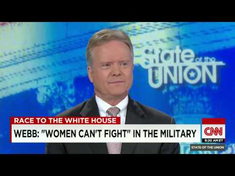 Jim Webb 2016 Democrat Presidential Candidate CNN Interview