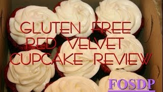 Evesa's Sweets Gluten Free Red Velvet Cupcake Review