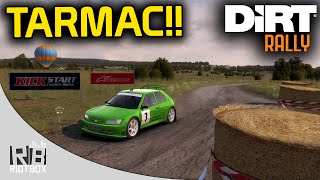 DiRT Rally Gameplay PC: Tarmac Terrors Update - F2 Kit Car (Peugeot 306 Maxi  Germany)