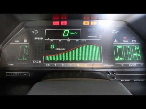 1985 Z31 Nissan 300zx Electronic Dash Cluster