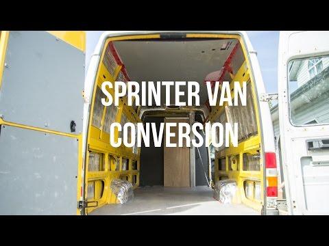 My Sprinter Van Conversion (the Ghetto Build Part 1) - Leftcoast