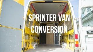 My Sprinter Van Conversion - Leftcoast