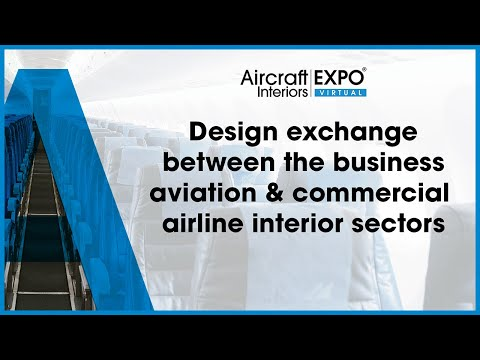 Design exchange between the business aviation and commercial airline interior sectors