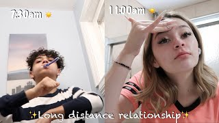 WHAT WE DO IN A DAY AS A LONG DISTANCE COUPLE