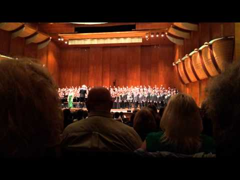 Eric Whitacre — Fly to Paradise from Paradise Lost —Avery Fisher Hall NYC March 30, 2014