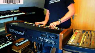 "Roland Jupiter-4  Synthesizer  ""4 Voices"""