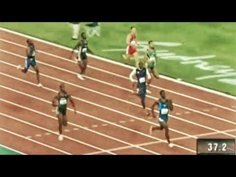 Michael Johnson - 2000 Sydney olympics - 400m - 43.84 - High Quality