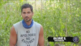 Survivor 2019   Βασιλικός: είναι απειλητικοί απέναντι μου   20/02/2019