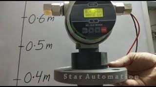Using Ultrasonic Level Sensor