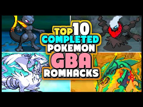 Top 10 COMPLETED Pokemon GBA ROM Hack With New Story And New Hero!