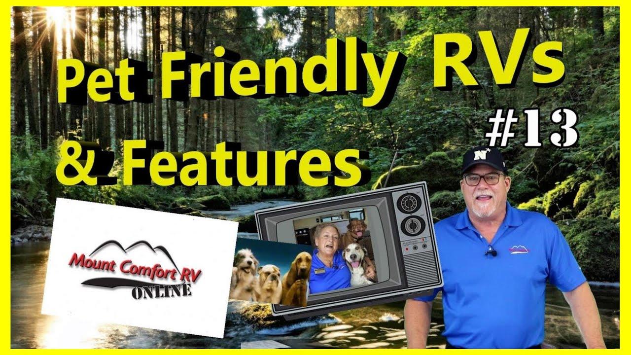 🐶Mount Comfort RV Online   RV Web Show   Thirteen🐱