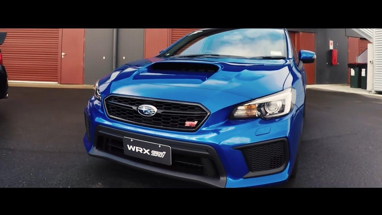 2018 Subaru Wrx Sti And Levorg Nz Launch Youtube