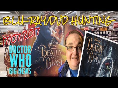 Blu-ray/DVD Hunting with Big Pauly (17/07/2017)  - Beauty & the Beast / Dr Who Big News