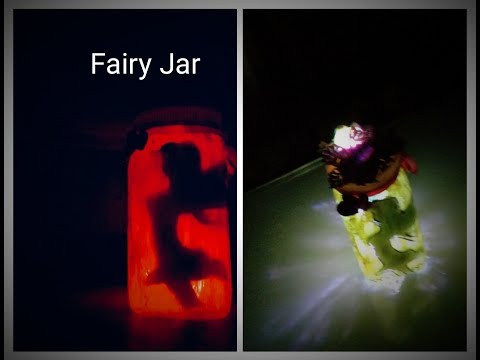 Fairy Lantern Tutorial/ DIY : Fairy Glow jars | No tissue paper |