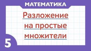 9 - Что такое простые числа и как раскладывать на простые множители ( Математика - 5 класс )