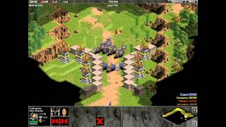 Enemies of Rome. mission 1. Crossing the Alps. Age of Empires. Hardest