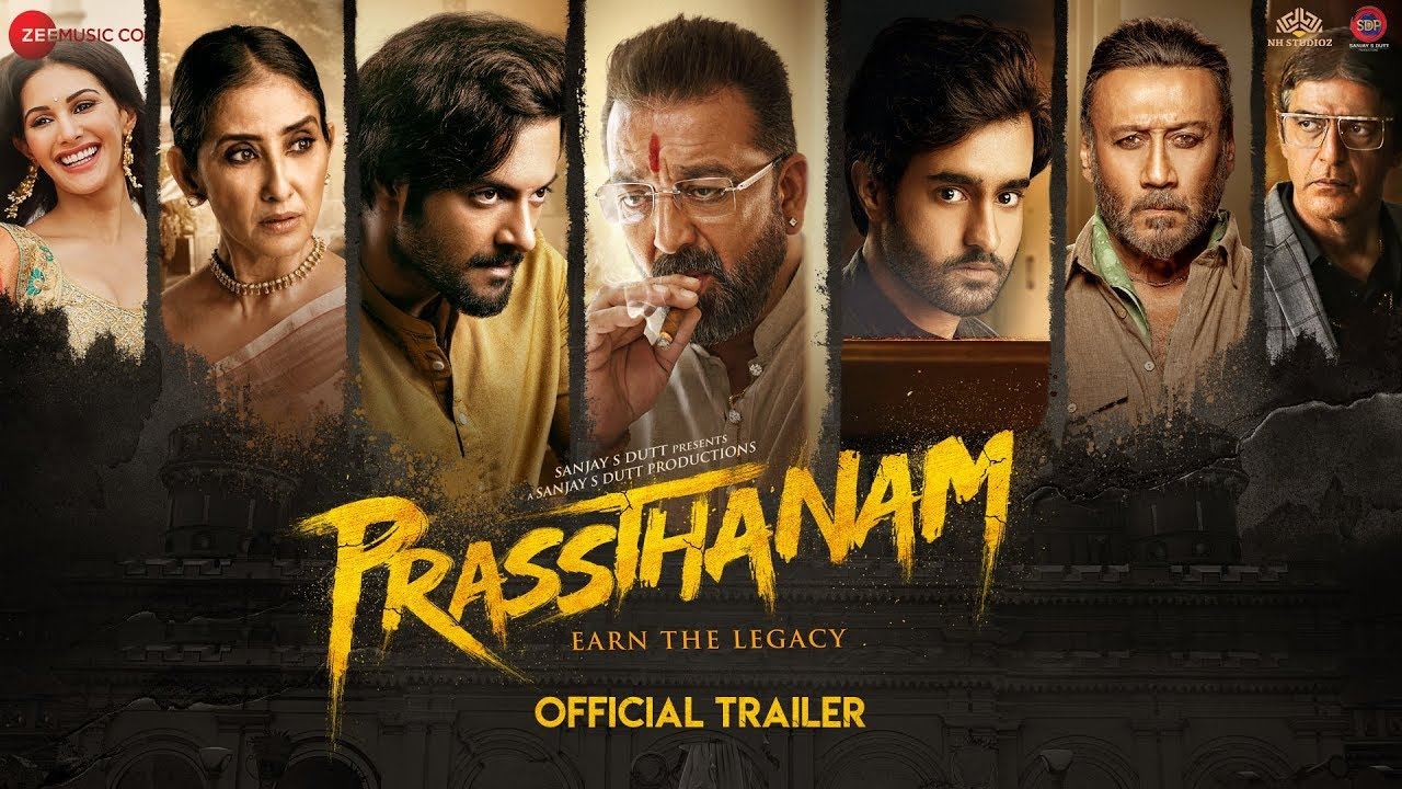Prassthanam - Official Trailer | Sanjay Dutt | Jackie Shroff | Deva Katta | 20th September 2019