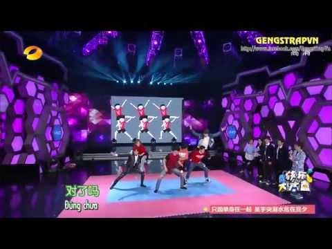 [GENGSTRAPVN][VIETSUB] HAPPY CAMP- Guest HanGeng, UNIQ, Châu Bút Sướng