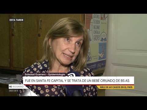Soledad Guerrero por el caso de sarampión
