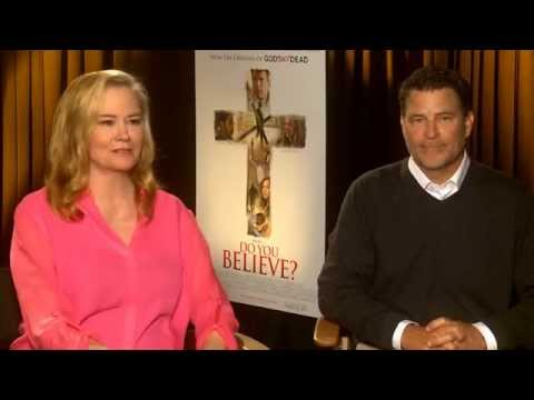 "Cybill Shepherd and Ted McGinley ""Do You Believe"" Interview"
