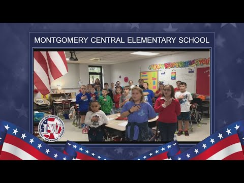 The Morning Pledge - Montgomery Central Elementary School - 10/30/19