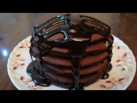 Eggless Chocolate Pancakes Recipe In 10 Minutes | Kids Special